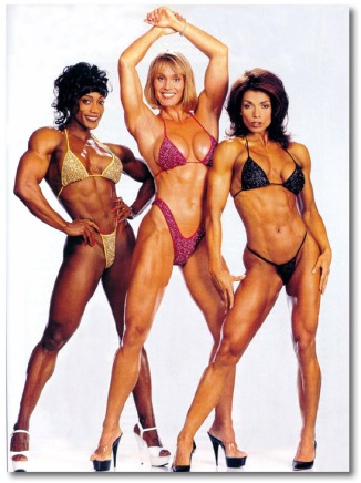 Lenda Murray, Cori Everson, Rachel Mclish.. My Idols!